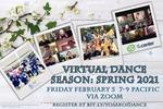 Ito Yosakoi Spring 2021 Virtual Dance Season Flyer